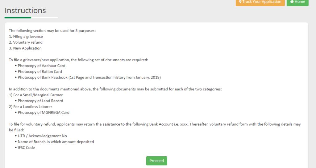 Kalia Yojana Application Form 2021